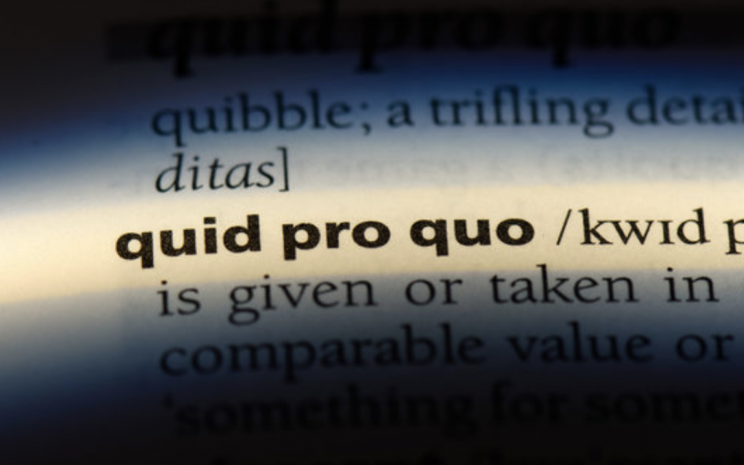 Quid Pro Quo In The Workplace